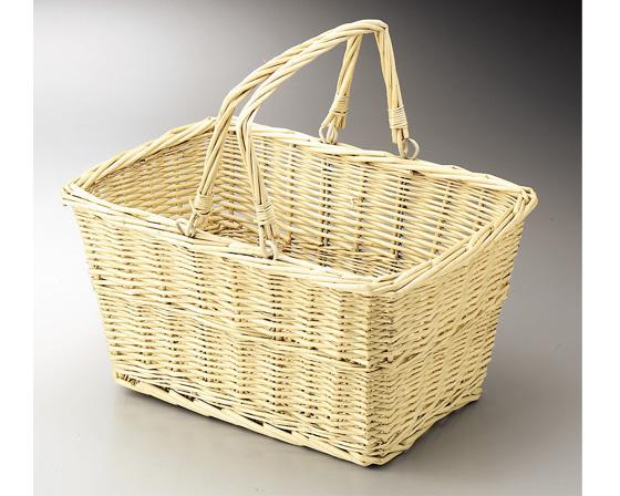 【2個セット】【ギフト包装用かご】籐のある生活 Willow(柳)-お菓子ラッピング用品-バスケット「29-28」【バスケット容器・カゴ籠・basket】【収納ボックス】