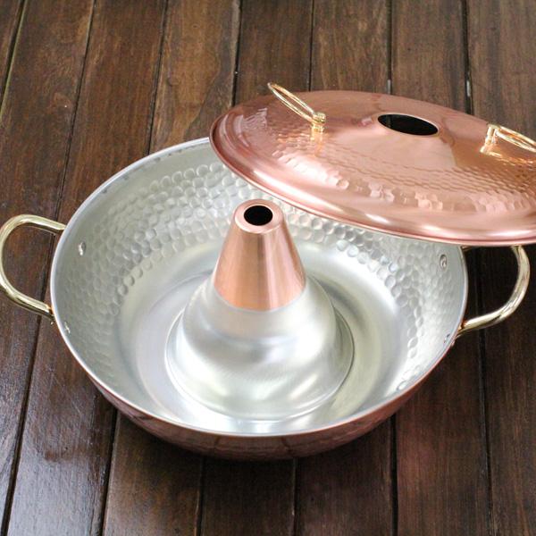 銅しゃぶ鍋 ラベンダー26cm