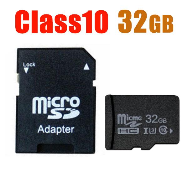 マイクロSDカード 変換アダプタ付 マイクロsdカード SDカード 驚きの価格が実現 32GB MicroSDメモリーカード Class10 SD-32G 2020A W新作送料無料 マイクロ 送料無料