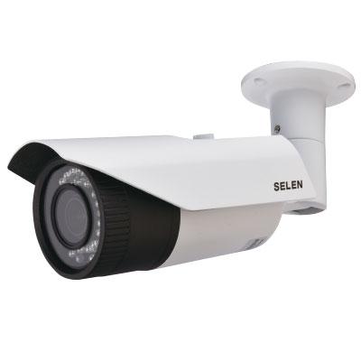 【SELEN/セレン】ハイビジョン対応 赤外線投光器内蔵防水型バリフォーカルカメラ SAH-G272