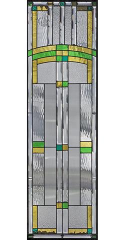 セブンホーム 遮音・断熱・防犯性のステンドグラス ピュアグラス Bサイズ SH-B18 [ステンドグラス/ガラス/インテリア/窓/小窓/室内/屋内]