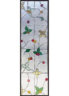 【送料無料】セブンホーム 遮音・断熱・防犯性のステンドグラス ピュアグラス Bサイズ SH-B11N