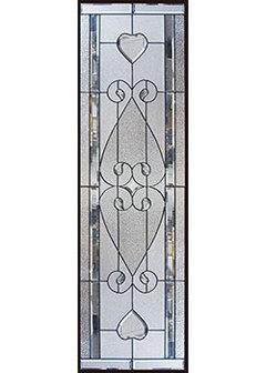 【送料無料】セブンホーム 遮音・断熱・防犯性のステンドグラス ピュアグラス Bサイズ SH-B23