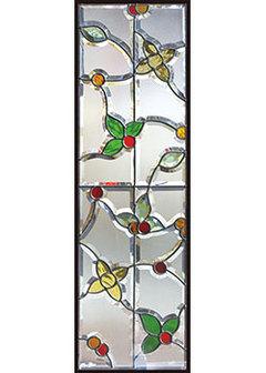 【送料無料】セブンホーム 遮音・断熱・防犯性のステンドグラス ピュアグラス Cサイズ SH-C11N