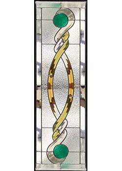 セブンホーム 遮音・断熱・防犯性のステンドグラス ピュアグラス Aサイズ SH-C32