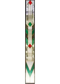 セブンホーム 遮音・断熱・防犯性のステンドグラス ピュアグラス Aサイズ SH-J06