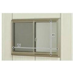タクボ物置トールマン・シャッターマン専用 オプション サッシ窓(ガラス付) 壁パネル20+20用 J-S2020A (本体同時発注価格)