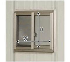 タクボ物置ストックマン・シャッターマン専用 オプション サッシ窓(ガラス付) 壁パネル20+21用 N-S2021A (本体同時発注価格)