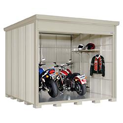 タクボ バイクガレージ バイクシャッターマン 多雪地型 標準型 BS-S2929 幅2980×奥行3195×高さ2570mm