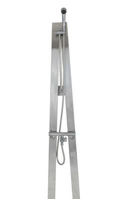 宝泉製作所 立水栓 屋外用混合シャワー水栓柱 Aスタイル 612G 送料無料 無条件返品・交換 特価 販促品
