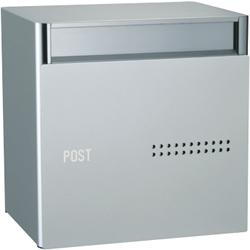 ユニソン スタンドポスト QUTI クティ 2B シルバーPSC-Z2BSO PSC-Z2BSO[郵便受け/スタンド/埋め込み/ダイヤル/一戸建/横/シンプル/ステンレス/おしゃれ]