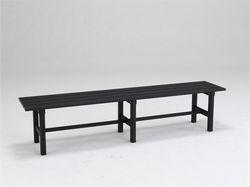 アルインコ アルミ製縁台 AYD180 180cm KSK