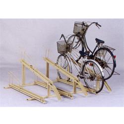 KYテクノロジー 自転車スイングラック 上段下段 ローラー式 収納台数6台セット CLB型 CLB-286