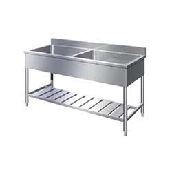 イースタン工業 G2-150 業務用二槽流し台 間口150cm ※受注生産品