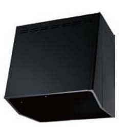 イースタン工業 V-703 フードボックス (換気扇用)BK/W W700