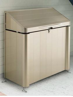 四国化成 ゴミステーション 大型ゴミ箱 シコク ゴミストッカー AP3型 GSAP3-0912SC [自治会/町内会/設置/屋外/カラス/対策/猫/大容量/ごみ/ゴミ箱]