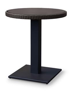 リゾート風 全天候型ファニチャー RAUCORD(ラウコード) OLBIA DINING TABLE オルビアダイニングテーブル 650φ[ガーデンテーブル/ケイラウコード/屋外家具/ガーデンファニチャー]