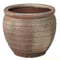 【送料無料】タカショー 和のガーデングッズ 壷型水鉢 WK-90L 古陶壷型水鉢13号 かまはだ