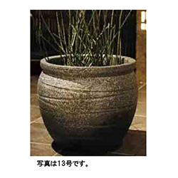 【送料無料】タカショー 和のガーデングッズ 壷型水鉢 KTO-041 古陶壷型水鉢16号 青窯肌