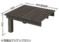 【送料無料】タカショー タンモクユニットデッキ 追加型 無塗装