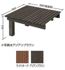 【送料無料】タカショー タンモクユニットデッキ 追加型 選べる2色 塗装済