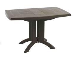 【送料無料】タカショー グロスフィレックス ベガテーブル118×77 選べる3色
