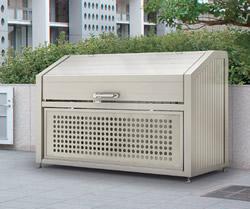 四国化成 ゴミステーション 大型ゴミ箱 シコク ゴミストッカー PS型基本セット GPS-1812-09SC [自治会/町内会/設置/屋外/カラス/対策/猫/大容量/ごみ/ゴミ箱]