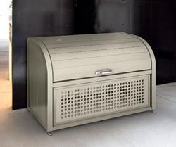 ゴミステーション 大型ゴミ箱 シコク ゴミストッカー PSR型基本セット GPSR-1812-08SC [自治会/町内会/設置/屋外/カラス/対策/猫/大容量/ごみ/ゴミ箱]