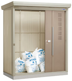タクボ物置 ゴミステーション クリーンキーパー CK-1808 12世帯用 一般型・標準型 【床セット付】幅1832×奥行890×高さ2110mm ※組立工事対応可 送料無料