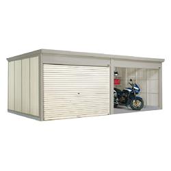タクボ物置 Mr.シャッターマン ダンディ WSB-2929-2 一般型 標準屋根 2連棟[収納庫/収納/屋外収納庫/屋外/倉庫/中型/大型]