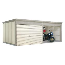 【オプション品半額セール中】タクボ物置 Mr.シャッターマン ダンディ WSB-S2929-2 多雪型 標準屋根 2連棟[収納庫/収納/屋外収納庫/屋外/倉庫/中型/大型]
