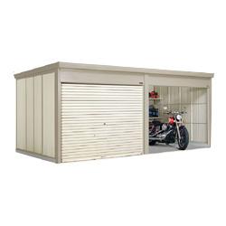 タクボ物置 Mr.シャッターマン ダンディ WSB-SZ2526-2 多雪型 結露減少屋根 2連棟[収納庫/収納/屋外収納庫/屋外/倉庫/中型/大型/激安/価格/小屋]