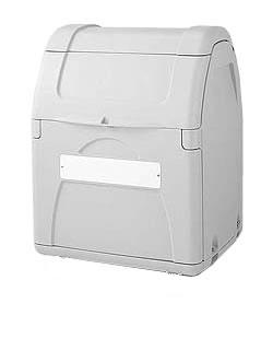 積水 (セキスイ・SEKISUI) ゴミステーション ダストボックス 330 完成品でお届け SDB330H 330 キャスターなし[業務用 積水/マンション/アパート/大容量/ゴミ箱/ゴミストッカー], 雑貨屋マイスター:7334c1fb --- sunward.msk.ru