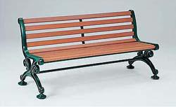 テラモト ベンチスワール(肘なし) 1800 ※受注生産品