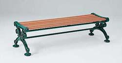 テラモト ベンチスワール(背なし) 1800 ※受注生産品