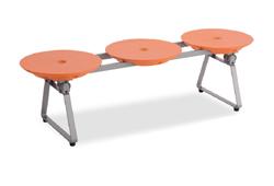 テラモト BC-309-513 樹脂製ベンチ ディスクベンチ フォールディングタイプ テラモト オレンジ BC-309-513, バラエティハウス:bc8b673f --- sunward.msk.ru