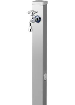 ユニソン 水栓柱 スプレスタンド70 ステンレスシルバー 蛇口1個セットASP-S101
