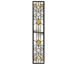 セブンホーム 遮音・断熱・防犯性のステンドグラス ピュアグラス Aサイズ SH-G05
