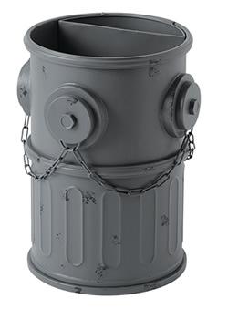 セトクラフト 傘立て・収納ボックス・ゴミ箱に使える SI-2847-GY アンブレラスタンド(消火栓)グレー SI-2847-GY, おしゃれなこたつ専門店 e-Living:a861d342 --- sunward.msk.ru