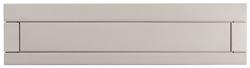住友林業緑化(株) ビューポスト 埋め込み式 2Bタイプ(2ブロック用) 2BSM-30 色:BS(ブライトシルバー)