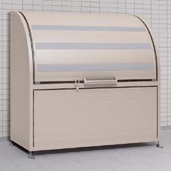 四国化成 ゴミステーション 大型ゴミ箱 シコク ゴミストッカー AP2型 (上開き+取り外し式) 725リットル GSAP2-1512SC [自治会/町内会/設置/屋外/カラス/対策/猫/大容量/ごみ/ゴミ箱]