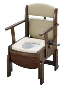 【楽天スーパーセール】 リッチェル 木製トイレ きらく 木製トイレ リッチェル コンパクト きらく やわらか便座, カワウチマチ:40b192ab --- nyankorogari.net