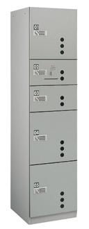 ダイケン宅配ボックス プッシュボタン錠(可変式)タイプ BB3型 スチール扉 Nユニット(捺印装置付) TBX-BB3N