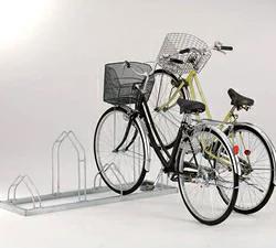 【設置工事対応可】ダイケン 自転車用 サイクルスタンド CS-MU4(スタンドピッチ400) 収容台数4台[自動車/駐輪/駐輪所/スペース/設置/ラック/停める/ダイケン/だいけん]
