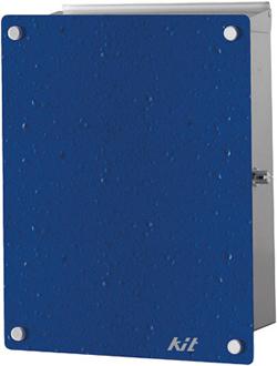 送料要見積 トーシン デザインポスト KIT キット ブルー PO-KIT-BU[壁掛けポスト/戸建ポスト/郵便受け/郵便ポスト]
