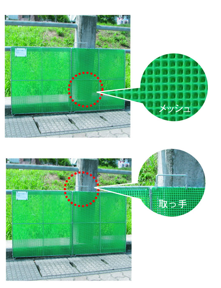 【エリア限定】カンエツ ゴミステーション 大型ゴミ箱 サビに強いステンレス枠 折り畳み式ごみ収集ボックス K-180