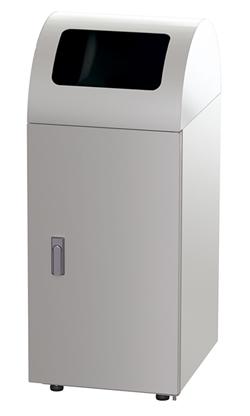 株ぶんぶく リサイクルトラッシュ 一般ゴミ用 (ステンレスヘアライン仕上)OSE-Z-35