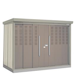 タクボ物置 ゴミステーション クリーンキーパー CK-2912 25世帯用 一般型・標準型 【床セット付】幅2900×奥行1222×高さ2110mm ※組立工事対応可 送料無料