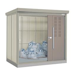 ゴミステーション 大型ゴミ箱 タクボ物置 クリーンキーパー CK-S2215 25世帯用 多雪型・標準型 [アパート/マンション/設置/屋外/カラス/対策/猫/大容量/ごみ/ゴミ箱/ゴミストッカー]