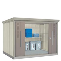タクボ物置 ゴミステーション クリーンキーパー CK-S2922 45世帯用 多雪型・標準型 【床セット付】幅2900×奥行2290×高さ2110mm ※組立工事対応可